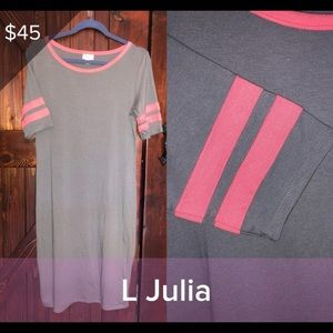 Lularoe NWOT Large Julia Dress